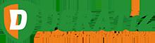 DERATIZ – deratizace, dezinsekce, dezinfekce Logo