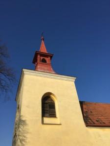 Ochrana proti holubům - kostel